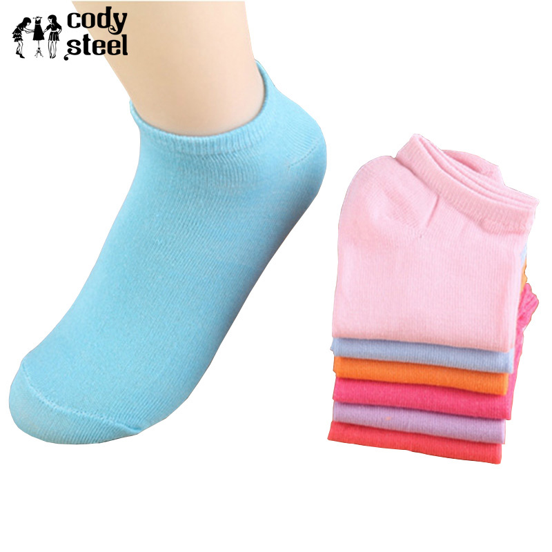 20pieces=10pair/lot Woman Short Socks Casual Cute Candy Colors Plush Boat Socks For Ladies Fashion Art Sock Invisible Girl