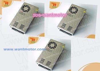 Ship from USA!!wantai 3pcs power supply 350,60VDC,9.8A power supply matching Nema 23, Nema 34 stepper motor