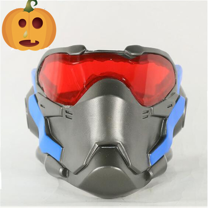 Overwatch Reaper Mask Cosplay Costume Mask Hallowmas fancy ball Masquerade New