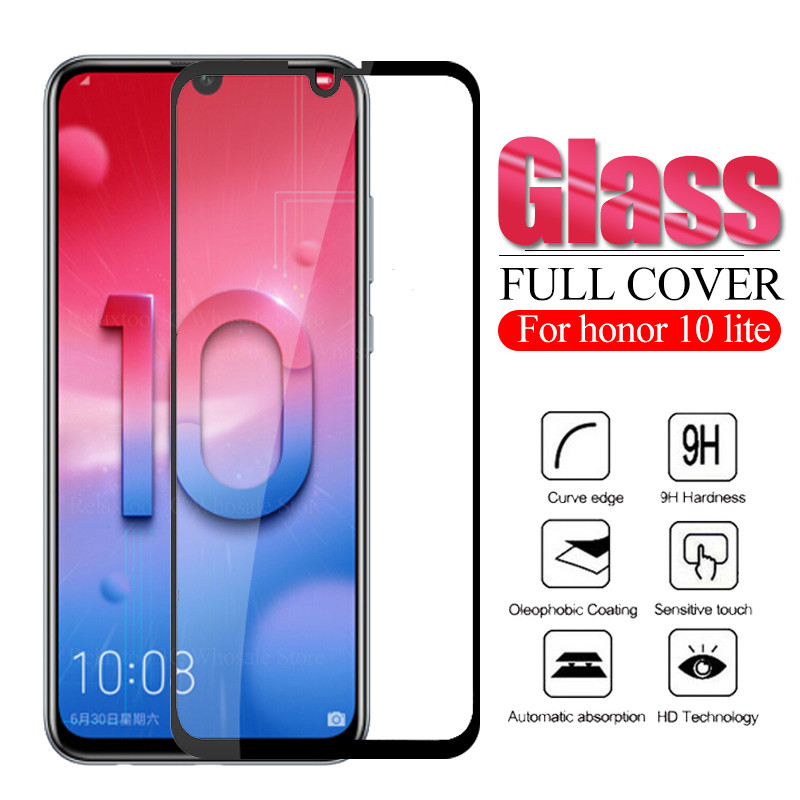 3D Safety Glass On Honor 10 Lite Tempered Glas For Huawei Honor 10 Lite Protective Glass Honor10 Light 10lite Display Armor Film