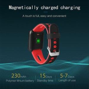 Image 3 - AMYNIKEER sporting waren uhr P68 smart watch IP68 WASSERDICHTE fitness armband tracker heart rate monitor männer frauen smart watch