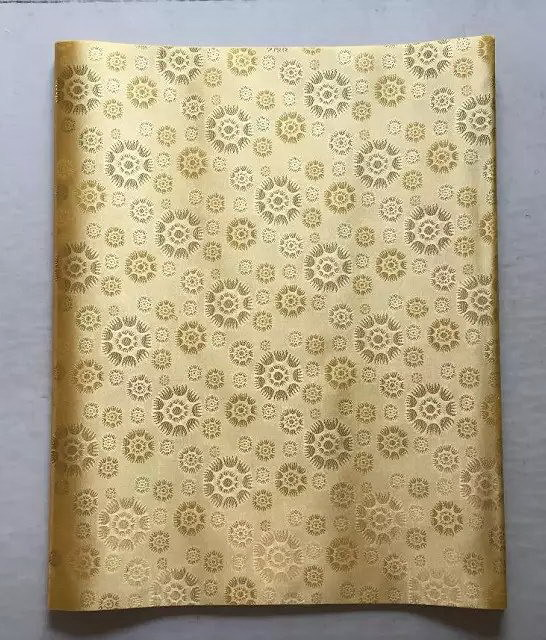 2017 New Pattern Nigeria Gele Headtie African Sego Whole Cream Champagne Gold