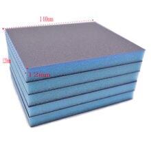 Двусторонняя абразивная бумага 5 шт зернистость 120 240 320