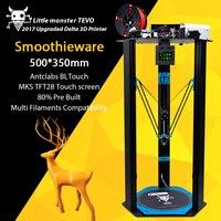 2017 TEVO Little Monster Delta 3D Printer TEVO Deltal Large Bed OpenBuilds Extrusion Smoothieware MKS TFT28
