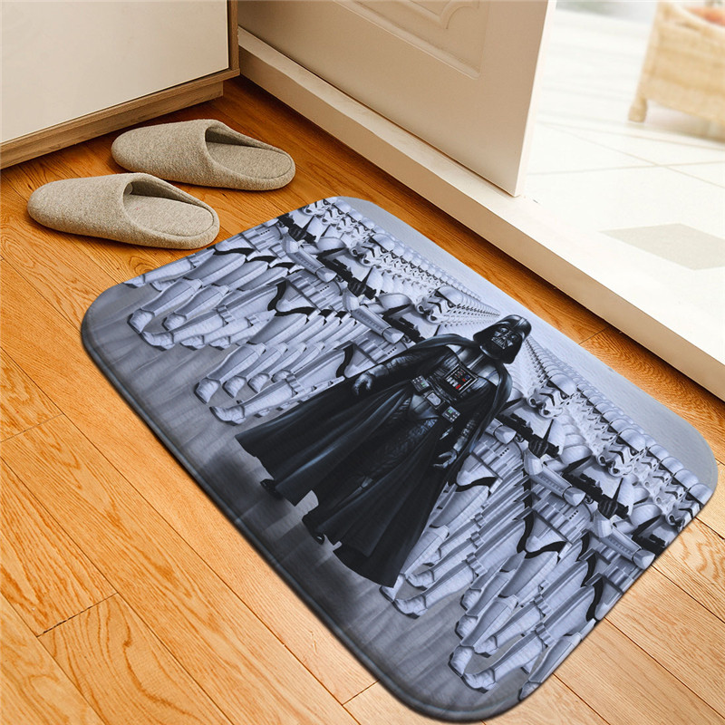 Creative Star Wars Printed Doormat Floor Mats Anti Slip