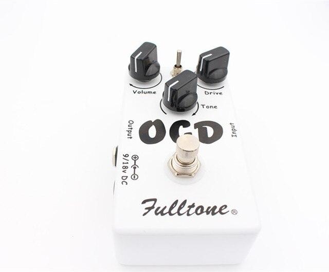 Pedal de guitarra eléctrica Ultimate Drive, efecto Overdrive, distorsión, y obsesivo compulsivo (OCD)