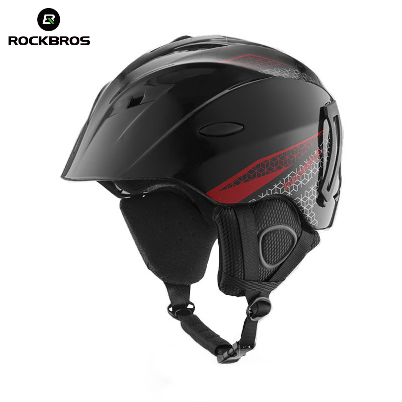 ROCKBROS лыжный шлем интегрально-Литые лыжные шлемы защита для взрослых детей тепловой Сверхлегкий сноуборд шлемы для скейтборда