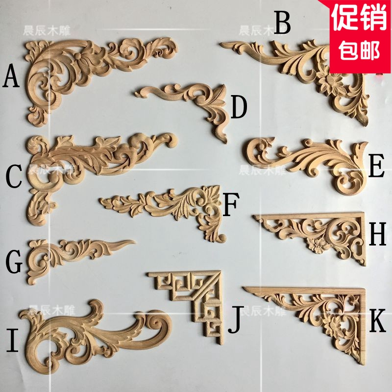 European decoration supplies, wood carved horns decorative doors and table decorations, Roman column carved flowers(A128)European decoration supplies, wood carved horns decorative doors and table decorations, Roman column carved flowers(A128)