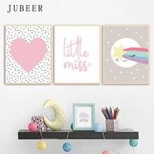 Nordic Decor Kids Poster for Children Nursery Art Children Room Decoration Pisture for Baby Bedroom Canvas Prints