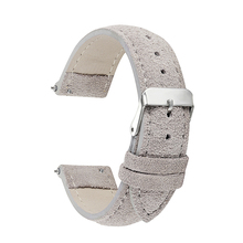 Watch Band Genuine Leather straps 18mm 20mm 14mm 16mm 22mm woman watch accessories men High Quality gray/yellow/red Watchbands