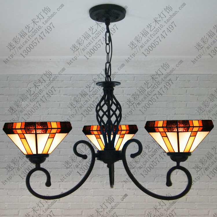 European Mediterranean tiffany retro pendant light hallway cozy for dining room bedroom  European Mediterranean tiffany retro pendant light hallway cozy for dining room bedroom