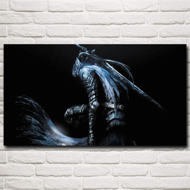 Dark Souls Artwork Video Games Art Silk Poster Print Home Wall Decor Painting 11×20 16×29 20×36 24×43 30×54 Inches Free Shipping