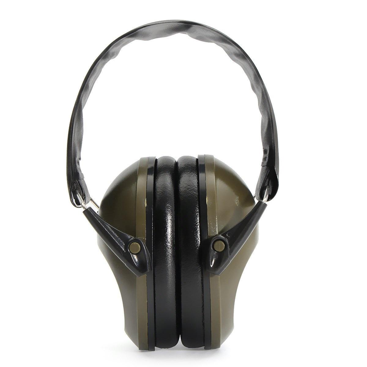 Nueva seguro anti-ruido orejeras protección auditiva insonorizadas Tiro Orejeras auricular redution ruido lugar Seguridad