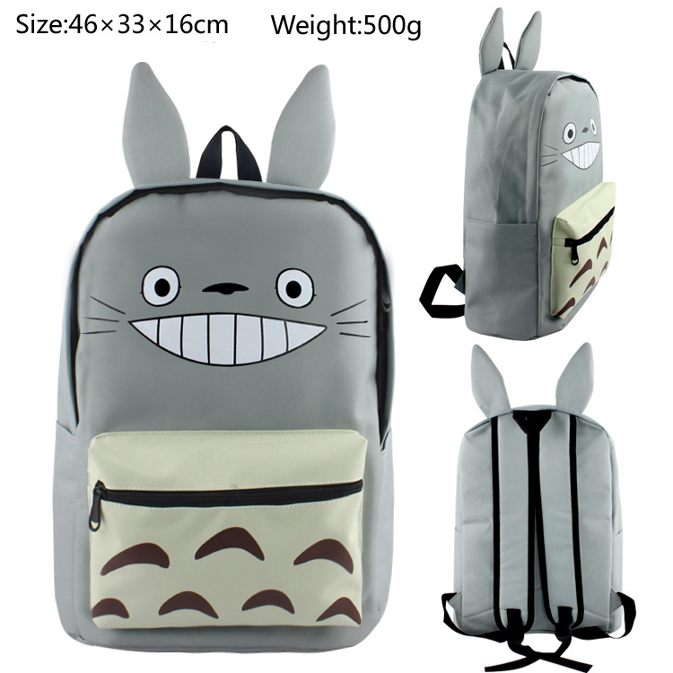 My Neighbor Totoro Backpacks Children Cartoon Canvas School Backpack for Teenagers Men Women Bag Kids Mochila Laptop Bags стівен кінг сяйво