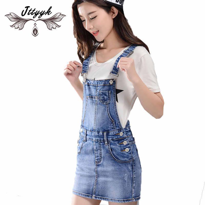 8ad31aa96bbd7c1 Летнее платье Для женщин свободные джинсы сарафан мини джинсовые женские  платья 2019 без рукавов С НАБОРНЫМИ