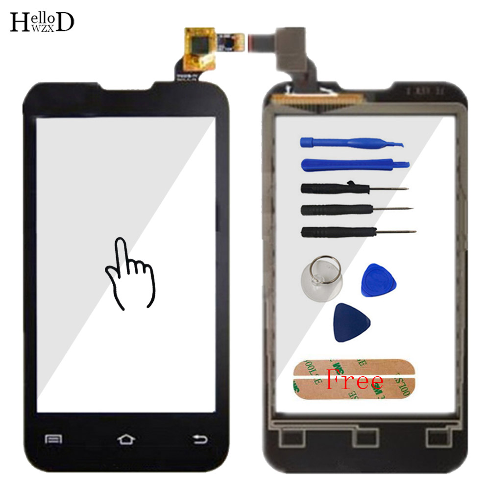 Touch Glass For Prestigio MultiPhone PAP 4020 PAP4020 Duo Smartphone Front Screen Digitizer Panel Lens Sensor Tools Adhesive