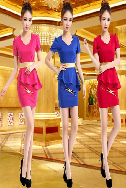 Banho do pé sauna trabalho técnico roupas moda Slim hotel aeromoça serviço profissional se adapte beleza sauna técnico do172