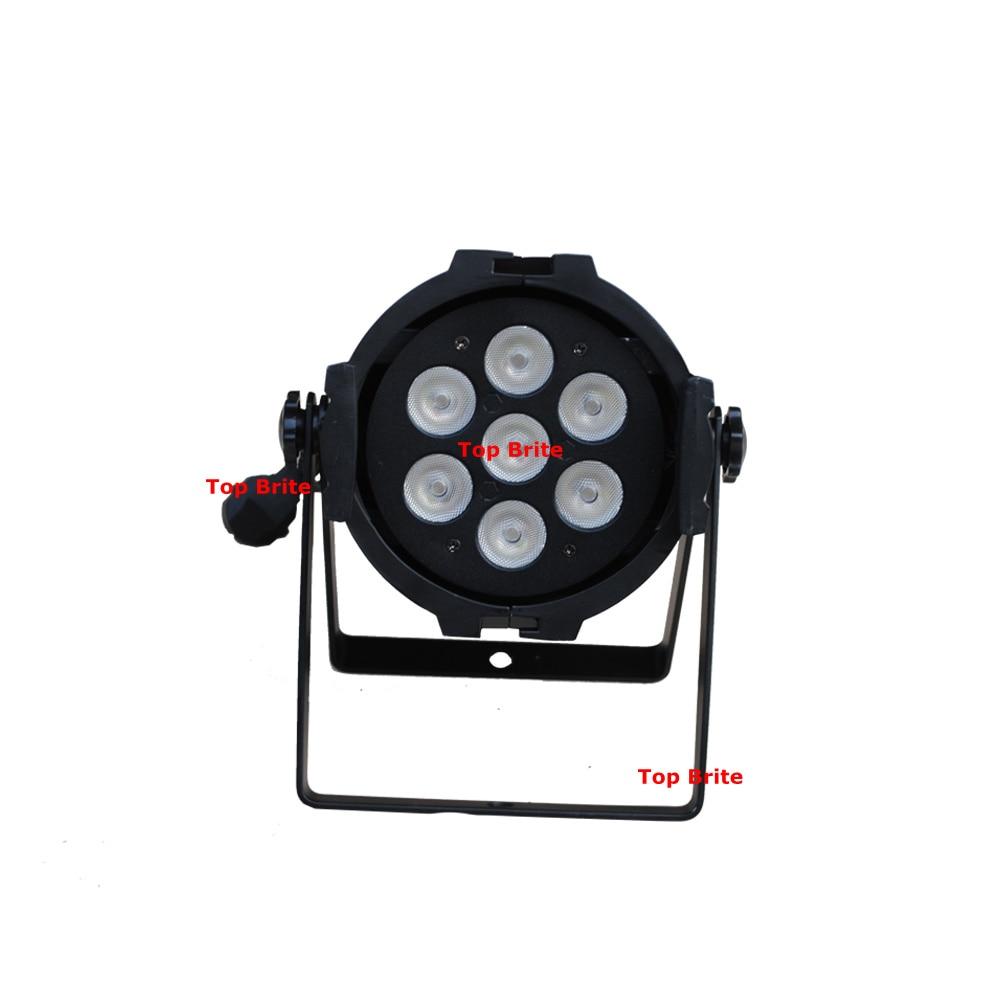 8 Unit Par LED Stage Lights 7*15W 5IN1 RGBWA Par LED DMX Stage Lighting Effect DMX 512 Controller LED Par Can For Dj Disco Party-in Stage Lighting Effect from Lights & Lighting    2