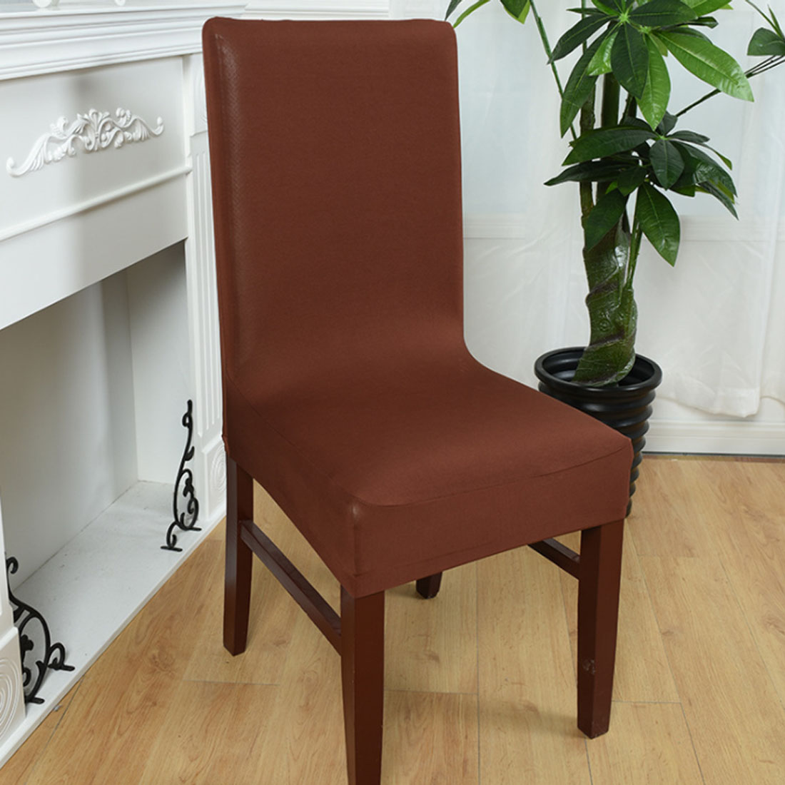 Top Sale Dining cadeira Spandex Strech Dining Room Chair Covers Protector Slipcover Decor housse de chaise for sillas bone