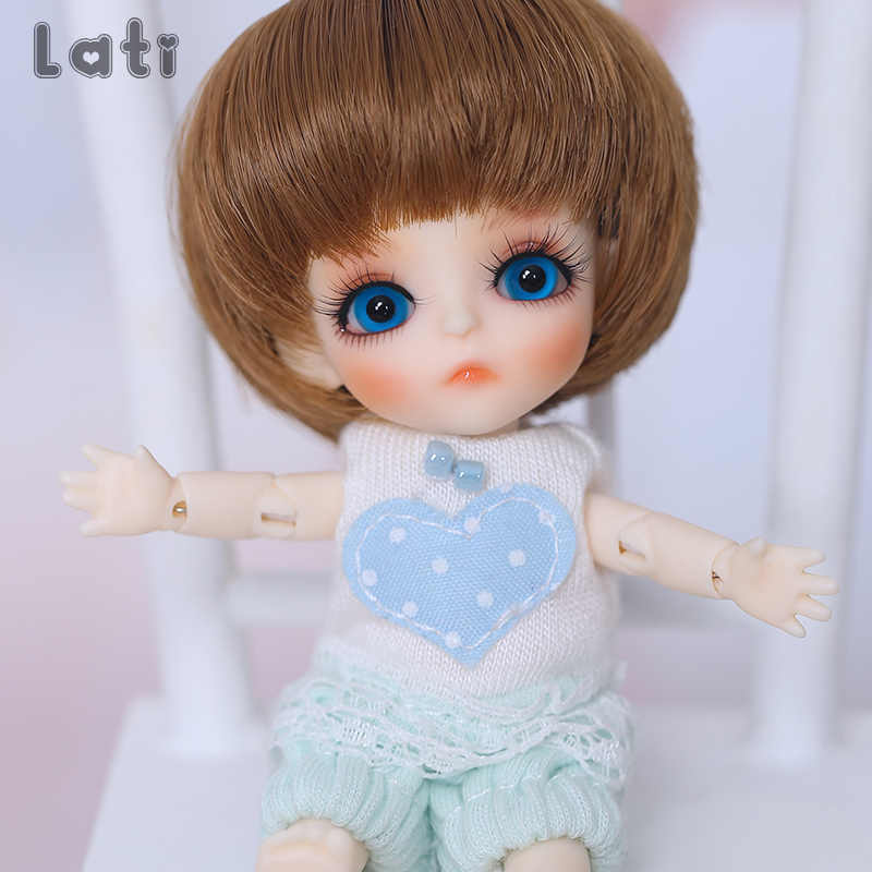 Lati White T.haru 1/12 BJD SD Doll Resin Figures Body Model Baby Girls Boys Toys Eyes High Quality Gift For Xmas Oueneifs