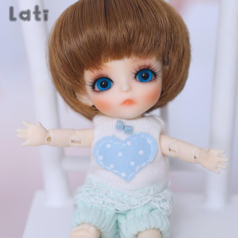 Lati White T.haru 1/12 BJD SD Doll Resin Figures Body Model Baby Girls Boys Toys Eyes High Quality Gift For Xmas Oueneifs  Luodo