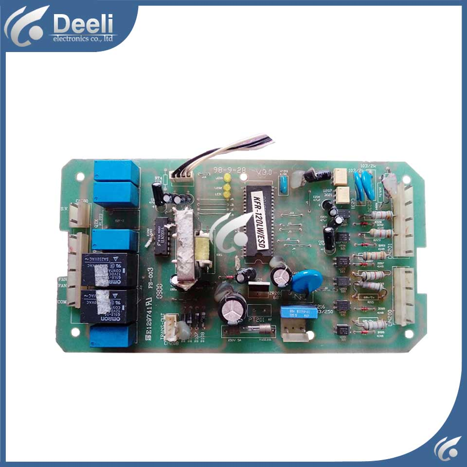 95% new Original for air conditioning Computer board KFR-120LW/ESD used board original for tcl air conditioning computer board used board