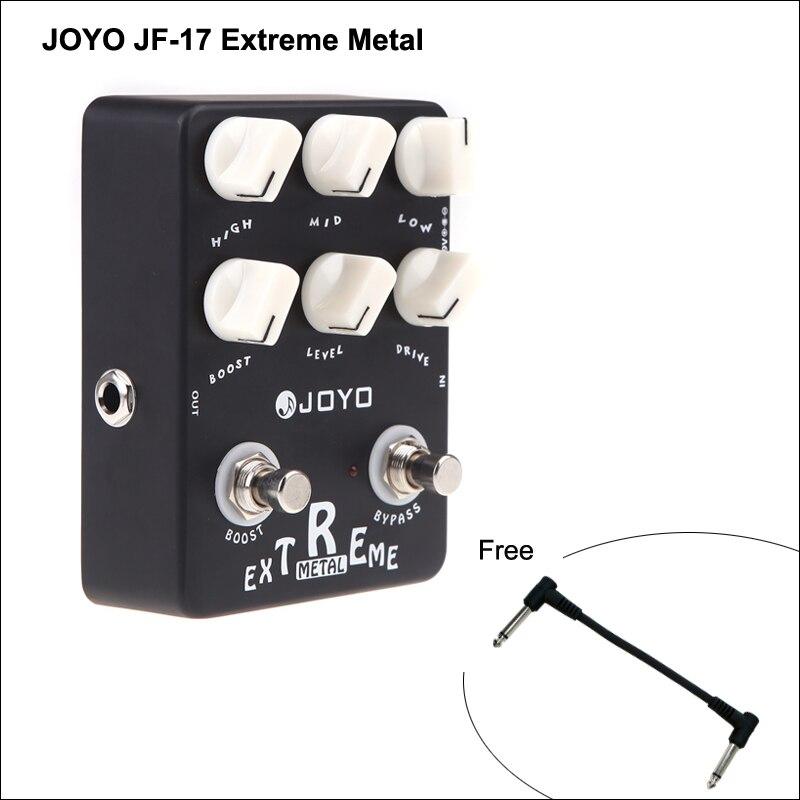JOYO JF-17 Extreme Metal Electric Guitar Effect Pedal Box 3-Bands Powerful EQ & 6 Knobs Musical Instrument Guitar Accessories педаль эффектов joyo jf 11 eq