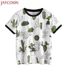 JAYCOSIN 2017 New  Women Summer Short Sleeve Printed shirt Blouse Tops Dropshipping L517 Free Shiping