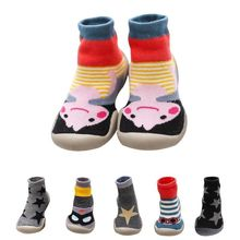 New For 1-6 Years Old Kid Rubber Soled Socks Children's Socks Indoor Ba