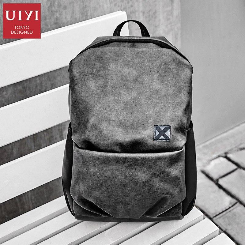 14 inch backpack men s backpack fashion trend bag college students Korean casual backpack computer bag