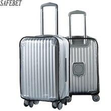 Hohe Qualität PVC Matte Transparent Wasserdicht Koffer Schutzhülle Reisegepäck Trolley Dicker Tragen Staubabdeckungen