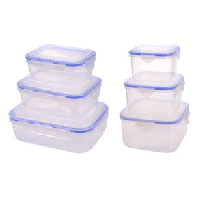 waasoscon 3 pcs/set Plastic Lunch Box Container