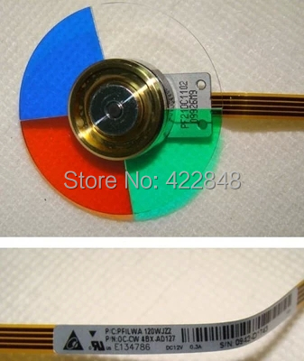 New and Original Color wheel for Sharp XR-H825SA Projectors xr e2530sa color wheel 5 color beam splitter used disassemble