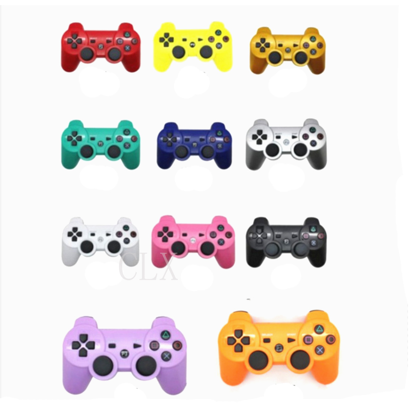 Wireless Bluetooth Game Controller 2.4GHz 11 Colors For SIXAXIS Playstation 3 Control Joystick Gamepad
