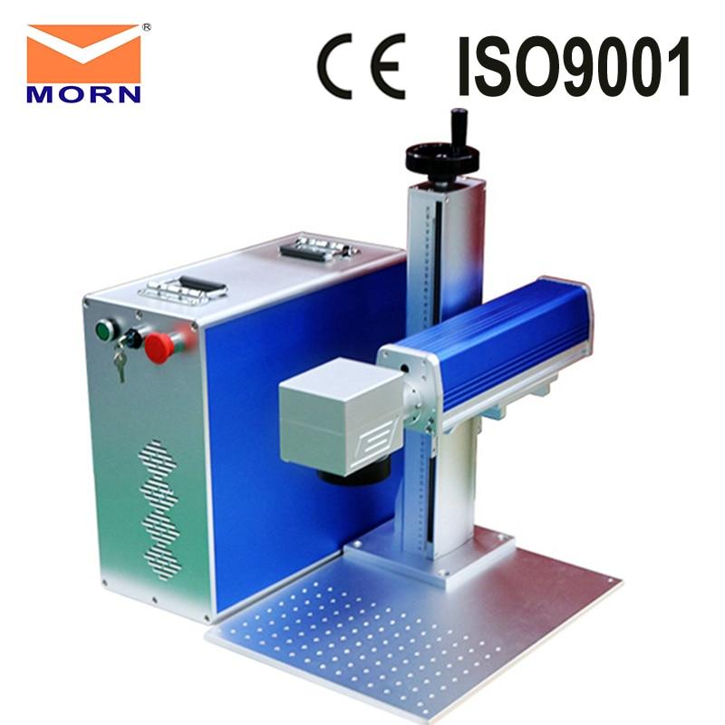Big discount ! 20w raycus fiber laser marking machine metal 30W desktop engraving