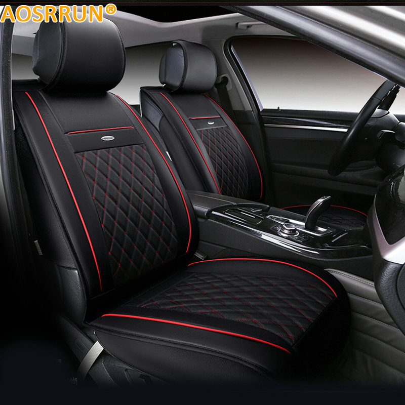 AOSRRUN Car Seat cover Winter spring imitation leather Car accessories For BMW X3 F25 2013 2014 back seat covers leather car seat cover for bmw e30 e34 e36 e39 e46 e60 e90 f10 f30 x3 x5 x6 car accessories car styling