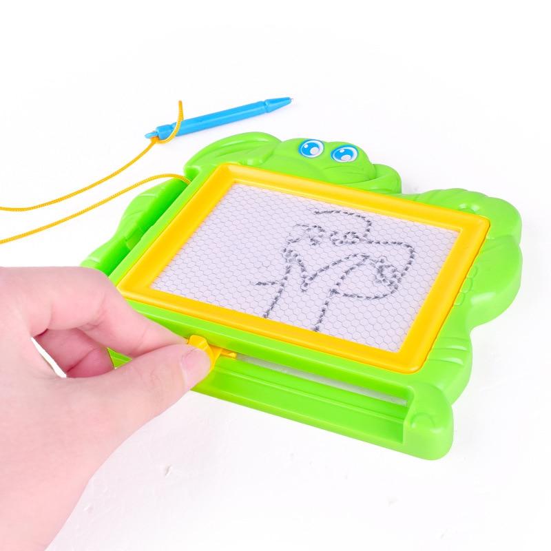 1 Stück Kunststoff Magnetischen Reißbrett Kinder Cartoon Zeichnung Bord Spielzeug Frühen Lernen Bildung Spielzeug Geschenk Für Kinder