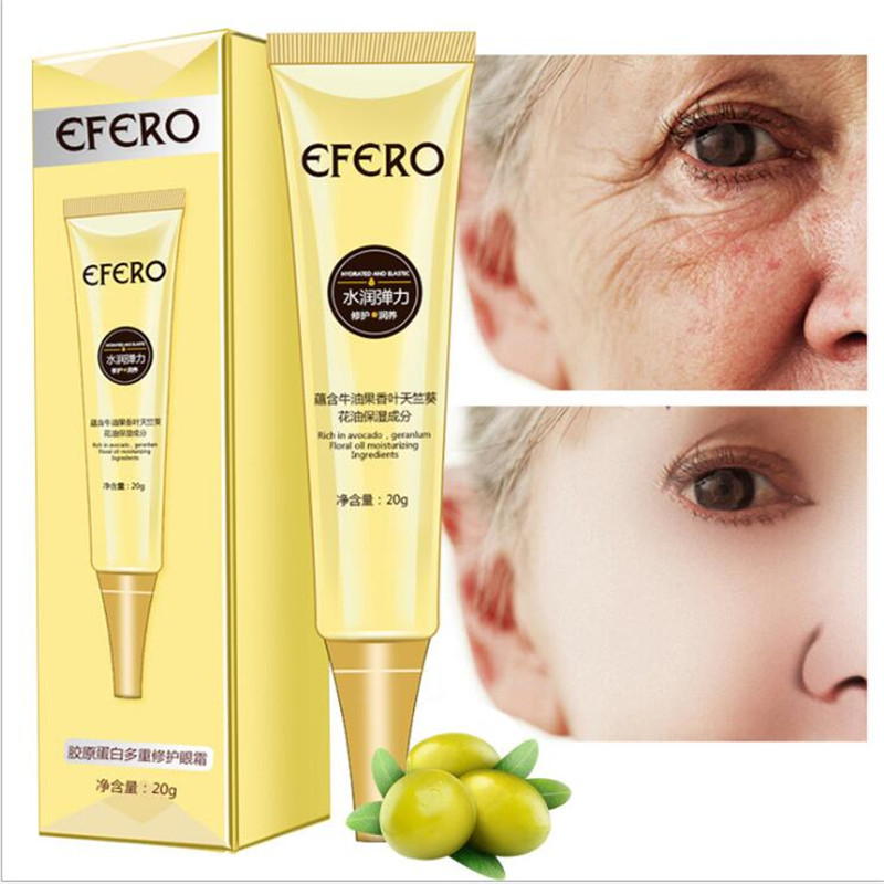 Eye Cream Peptide Collagen Anti Wrinkle Anti aging Remover Dark Circles Eye Care Against Puffiness And Bags