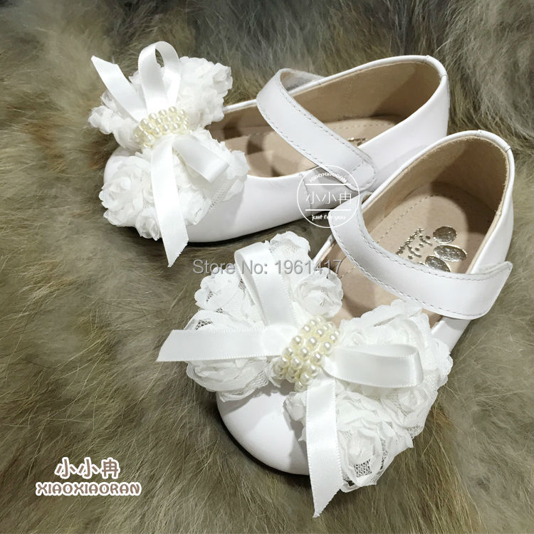 2016 Hot Sale Quality Girls Dress Shoes Princess Shoes With Handmade Bow Factory Price Direct Selling Free Shipping 2016 hot sale aliexpress handmade