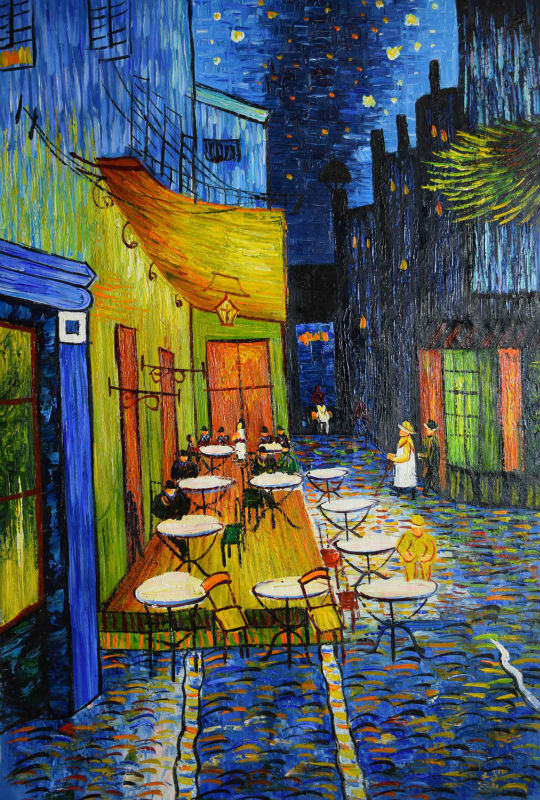 Buy hand painted home decor painting oil for Van gogh paintings locations