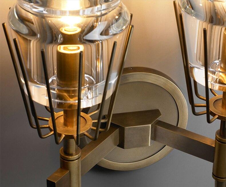 Indústria de cobre estilo Loft Nordic Americano