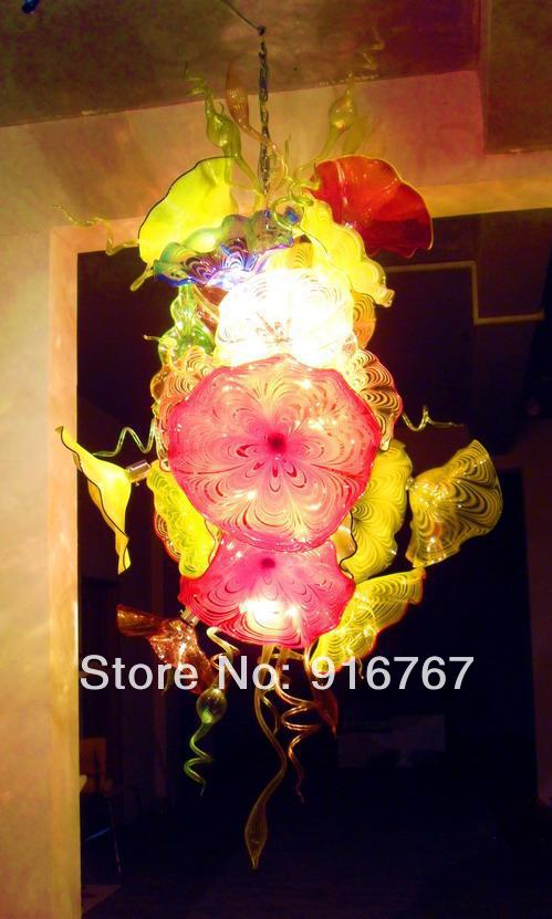 LR417-Free Shipping 2014 Pop New Style Art Glass Plate ChandelierLR417-Free Shipping 2014 Pop New Style Art Glass Plate Chandelier