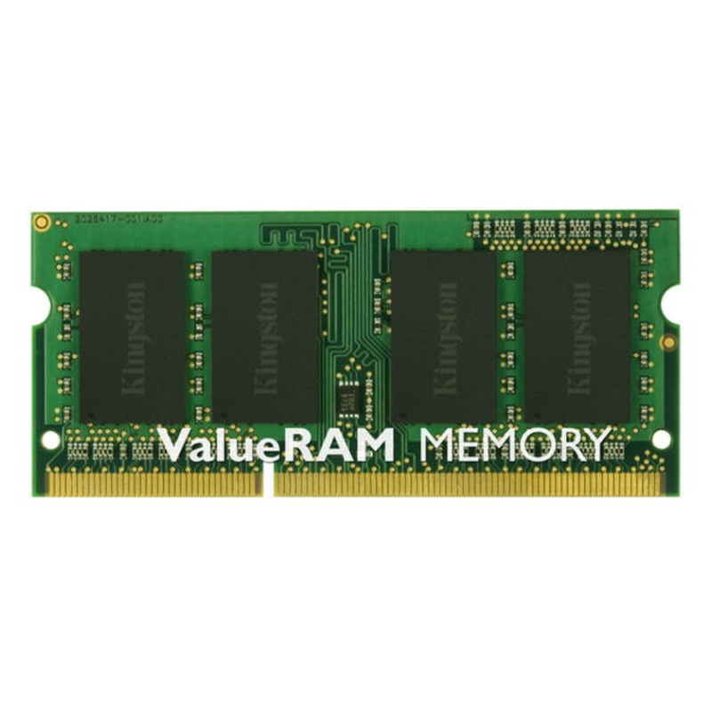 Kingston Technology ValueRAM 8GB DDR3 1333MHz Module, 8 GB, 1 x 8 GB, DDR3, 1333 MHz, 204 pin SO DIMM
