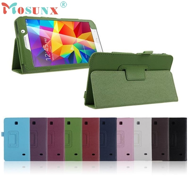the latest 0f84a d81b0 US $5.09 13% OFF|PU Leather Case Stand Cover For Samsung Galaxy Tab 4 7Inch  Tablet SM T230 SM T231 DEC 21-in Tablets & e-Books Case from Computer & ...