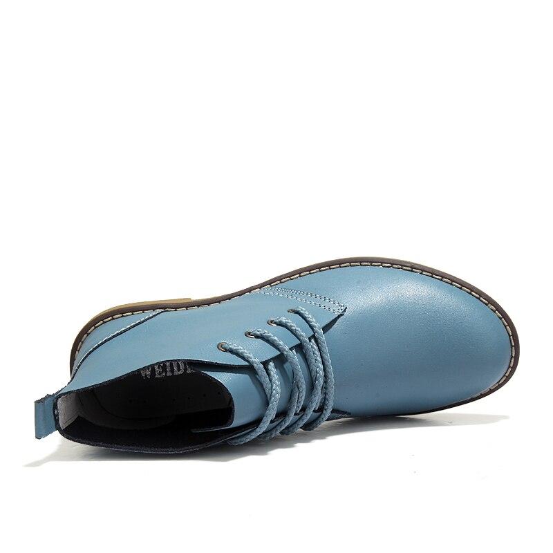 De Fille Pour Martin Chaussures Pooloop orange Cuir Véritable Robe Cheville Travail Plein Mode Air Bottines En Femmes Black Bottes Occasionnels Caoutchouc Nouvelle yellow blue Zq4Zavw