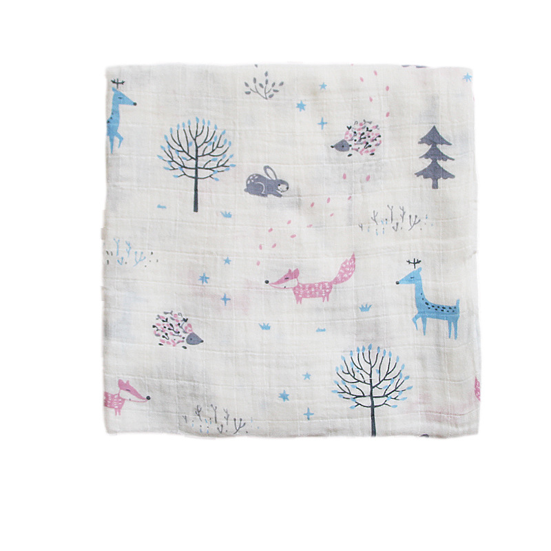 Muslin Cotton Kids Newborn Bath Towel Security Swaddle Blankets  Baby Cotton Cloth  Baby Beach Towel Baby Children Care Stuff  20