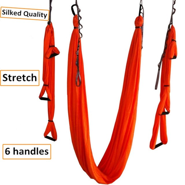20 colors upgraded stretch silked antigravity yoga hammock 6 handles full set shipping by post mail online shop 20 colors upgraded stretch silked antigravity yoga      rh   m aliexpress