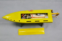 DT Mono 1 1 E38 Thor Kevlar Epoxy Electric Brushless RC Boat w/ TP 2935 3350KV motor & 80A TENSHOCK ESC, CNC Metal Prop.