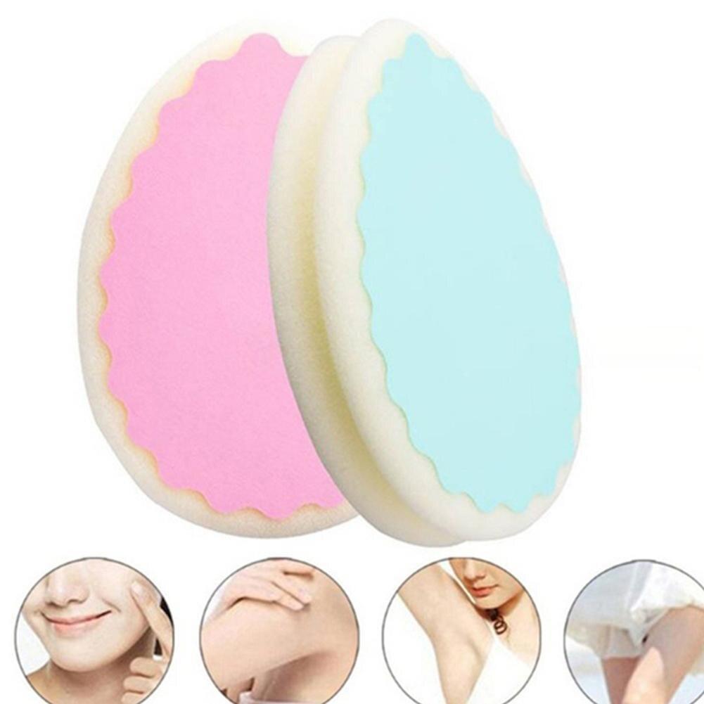 Magic Painless Sponge Hair Removal Depilation Sponge Pad Remove Hair Remover Effective Epilator Facial Body Hair Remover Tool