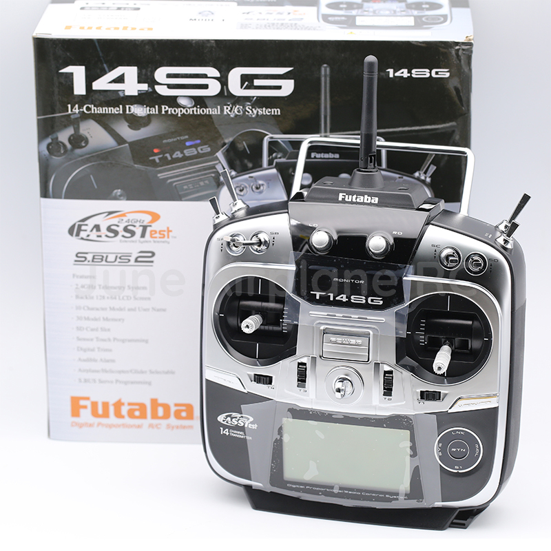 Futaba 14SG 2.4 Ghz émetteur FASSTest 14ch et récepteur HV R7008SB pour hélicoptère RC Mode Multicopter 2